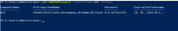 password - powershell