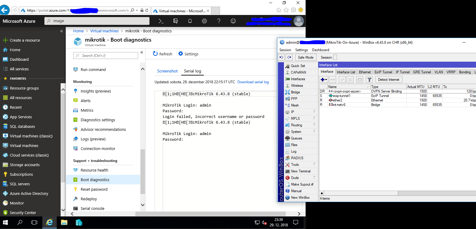 Running MikroTik router on Azure | Luka Manojlovic